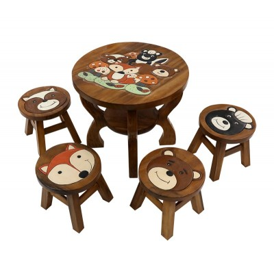 kids wood set