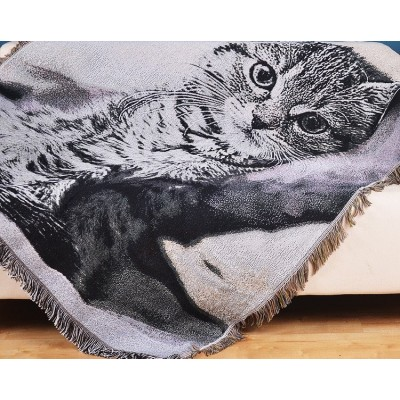 Naughty Cat Blanket